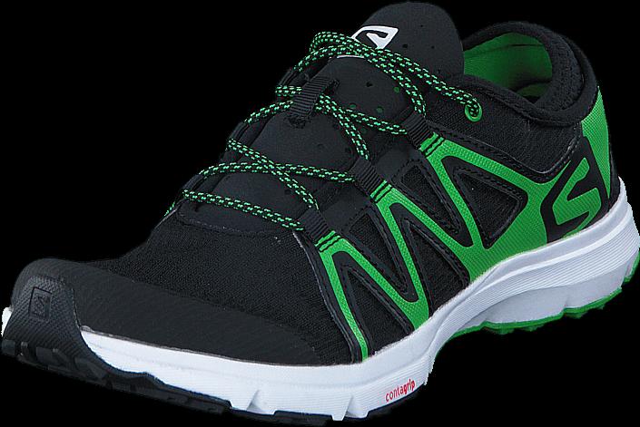 Footway SE - Salomon CROSSAMPHIBIAN SWIFT Black/Black/Green, Skor, Sneakers & Sportskor, Löpa 947.00
