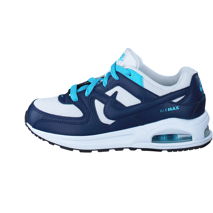 the best attitude da511 1a724 Köp Nike Air Max Command Flex Gp White Binary Blue Vivid Sky Bl blåa Skor  Online   BRANDOS.se