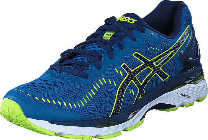 Asics Gel Kayano 23 Thunder Blue/Safety Yellow