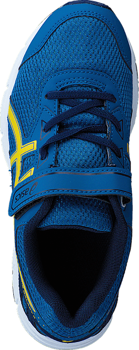 Asics Pre Galaxy 9 Ps Thunder Blue/Vibrant Yellow