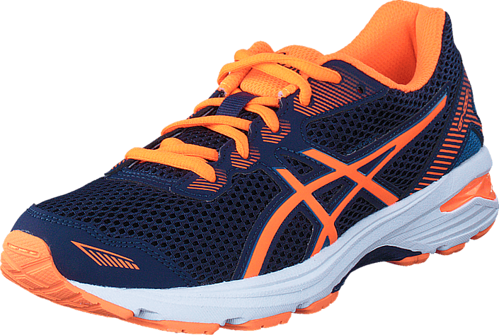 Asics - Gt 1000 5 Gs Indigo Blue/Hot Orange/Blue