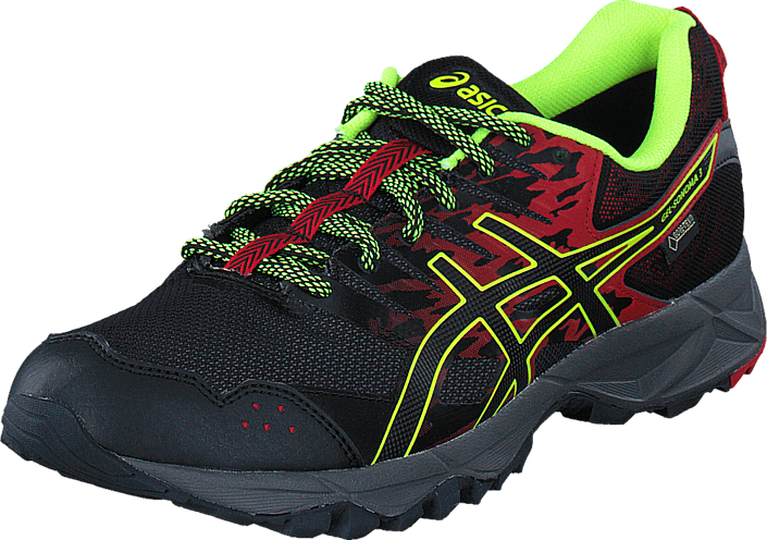 Asics - Gel Sonoma 3 Gtx Vermilion/Black/Safety Yellow