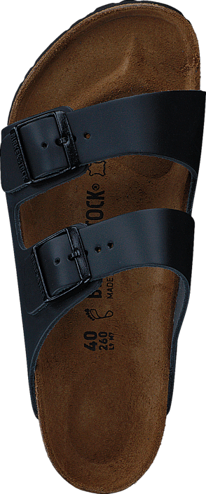 Birkenstock Arizona Regular Smooth Leather Black