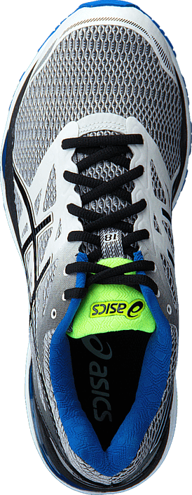 Asics Gel Cumulus 18 White/Black/Electric Blue