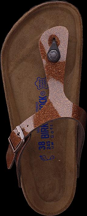 Birkenstock Gizeh Soft Birko-Flor Galaxy Bronse