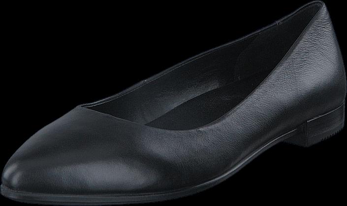 Ecco Shape Pointy Ballerina Black Foulard