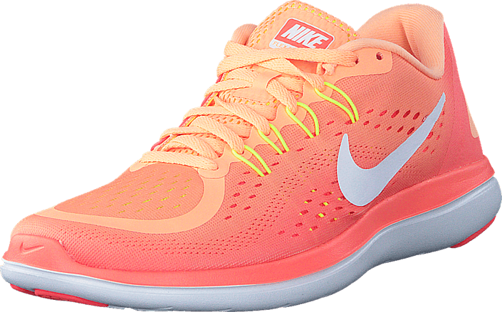 Nike - Wmns Flex 2017 Rn Sunset Glow/White-Bright Mango