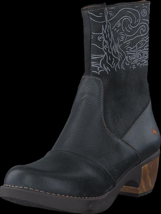 Art 1016 Zundert Black, Schuhe, Stiefel & Stiefeletten, Hohe Stiefeletten, Grau, Female, 36