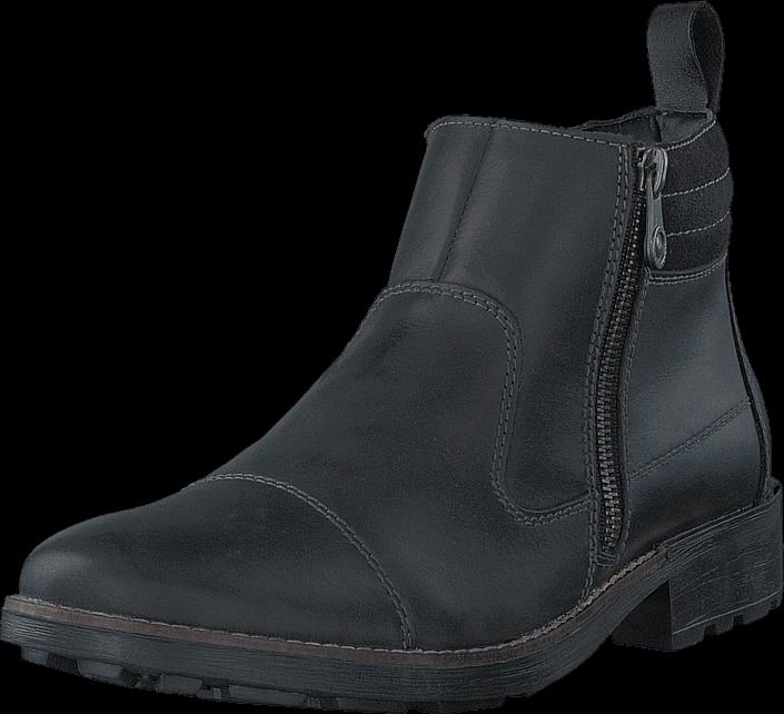 Rieker 36051-00 00 Black, Sko, Boots, Chelsea boots, Svart, Herre, 47