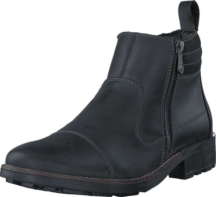 Rieker 36051-00 00 Black, Sko, Boots & Støvler, Chelsea boots, Sort, Herre, 41