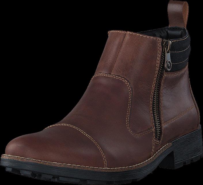 Rieker 36051-25 Brown, Sko, Boots, Chelsea boots, Brun, Herre, 41