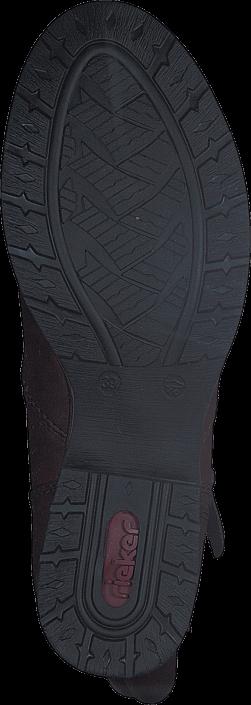 Rieker - Z9582-25 25 Mahogany