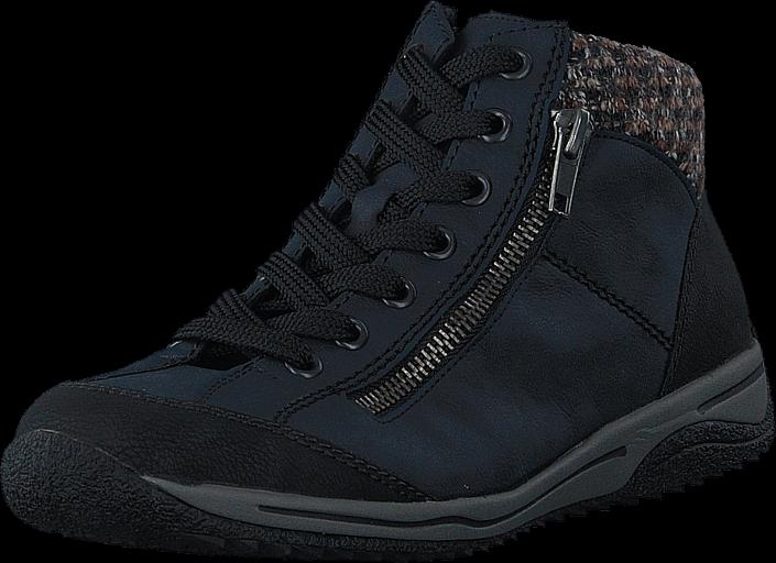 Footway SE - Rieker L5223-00 Blau kombi, Skor, Kängor & Boots, Chukka boots, Blå, Dam, 39 747.00