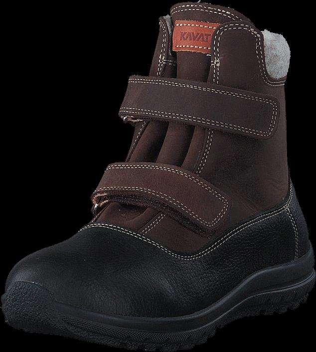 Footway SE - Kavat Dalby EP Dark brown, Skor, Sneakers & Sportskor, Kilklackssneakers, Svart, 1097.00