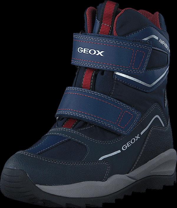 Geox - J Orizont Boy ABX Navy/Bordeaux