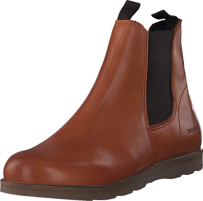 Footway SE - Ten Points New Carol 384001 Cognac, Skor, Kängor & Boots, Chelsea Boots, Röd, Da 1097.00