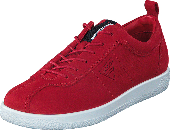 Ecco 400503 Soft 1 Ladies Chili Red
