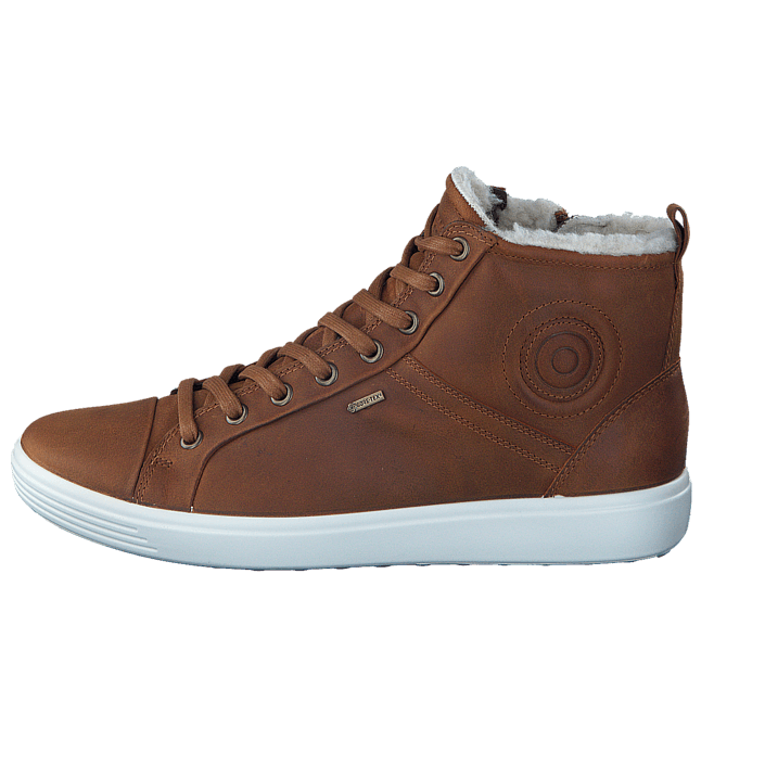 buy ecco 430353 soft 7 ladies amber brown shoes online. Black Bedroom Furniture Sets. Home Design Ideas