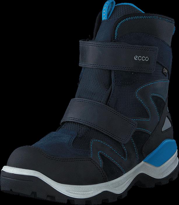 Ecco 710223 Snow Mountain Black/Marine/Poseidon