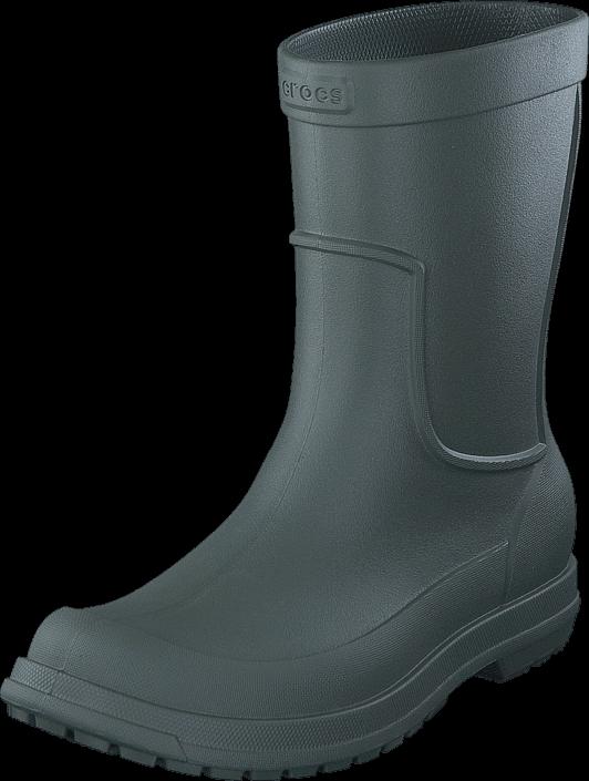 Footway SE - Crocs AllCast Rain Boot M Dusty Olive/Dusty Olive, Skor, Kängor & Boots, Höga kä 497.00