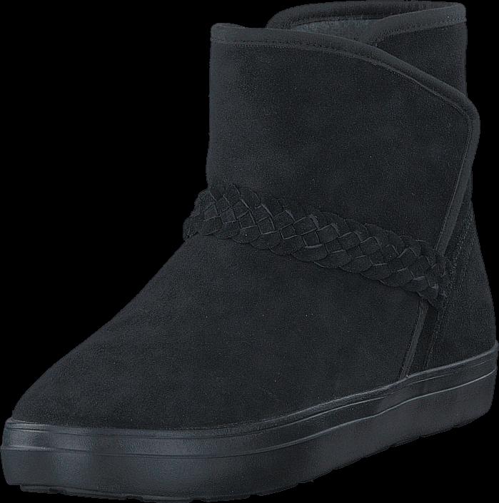 Crocs LodgePoint Suede Bootie W Black, Sko, Boots, Saueskinn støvler, Svart, Dame, 36
