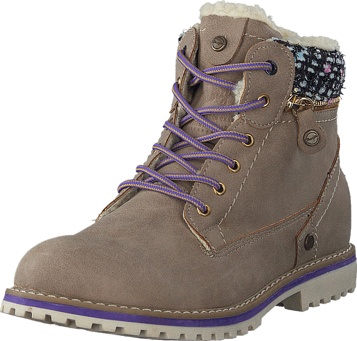 Wrangler - Creek zip girl Taupe
