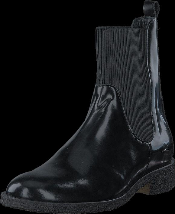 Angulus - Boot w. elastic slip-on design 1400 Black