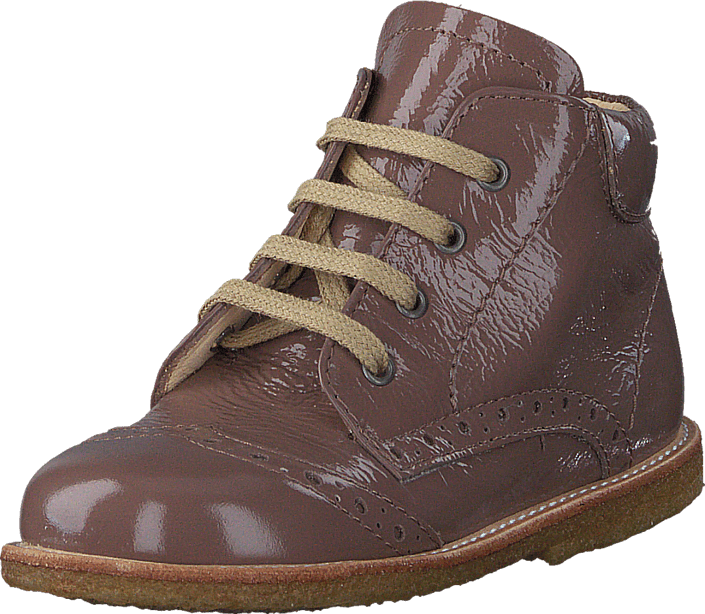 Angulus - First steps lace-up boot 2332 Nougat