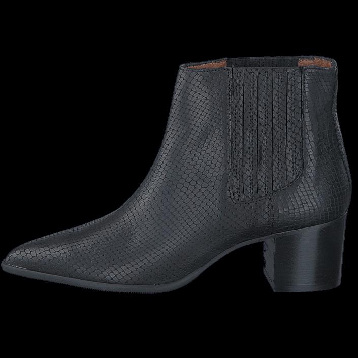 Lisabon low boots Black snake