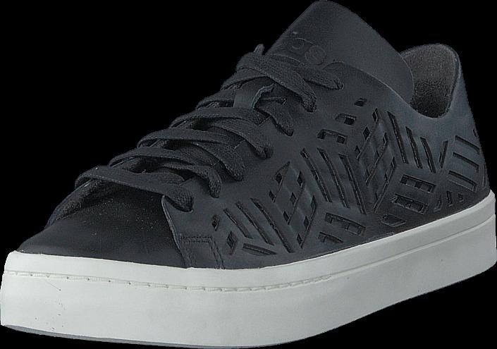 Footway SE - adidas Originals Courtvantage Cutout W Core Black/Core Black/Off Whit, Skor, Sne 947.00