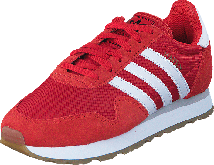 adidas Originals - Haven J Red/Ftwr White/Ftwr White
