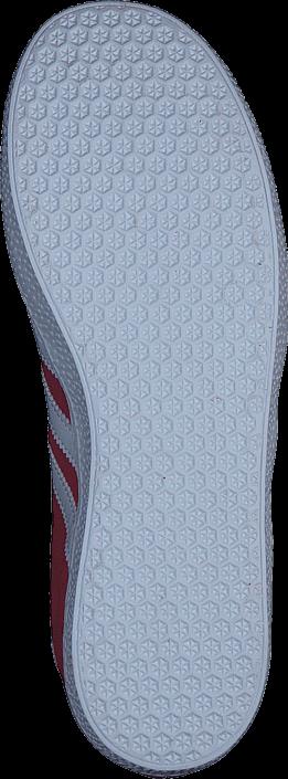 adidas Originals Gazelle J Scarlet/Ftwr White/Gold Met.