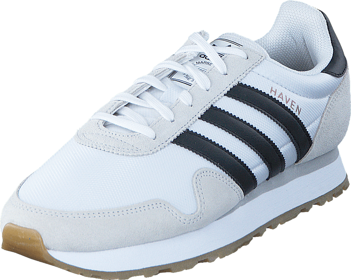 adidas Originals - Haven Ftwr White/Core Black/Gum 3