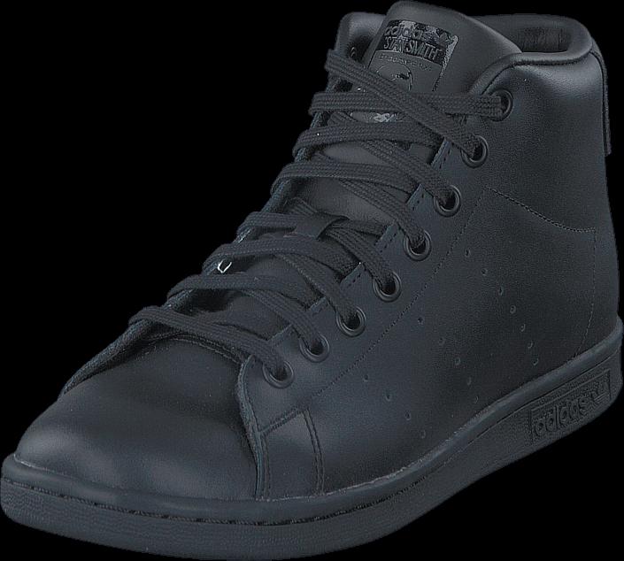 adidas Originals Stan Smith Mid J Core Black/Core Black/Core Bla