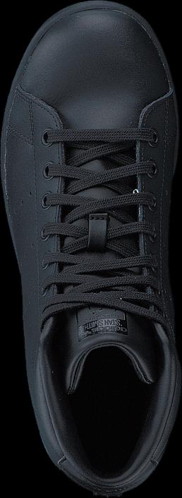 adidas Originals - Stan Smith Mid J Core Black/Core Black/Core Bla