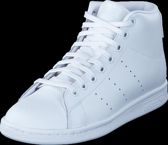 adidas Originals - Stan Smith Mid J Ftwr White/Ftwr White/Ftwr Whi