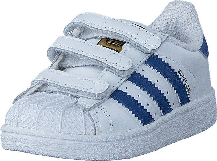 adidas Originals - Superstar Cf I Ftwr White/Eqt Blue S16/Ftwr W