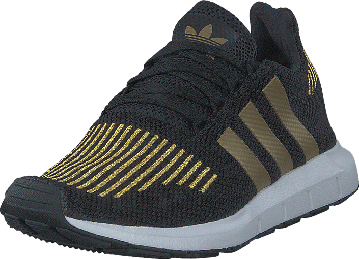 adidas Originals - Swift Run W Core Black/Gold Met./Ftwr Whit
