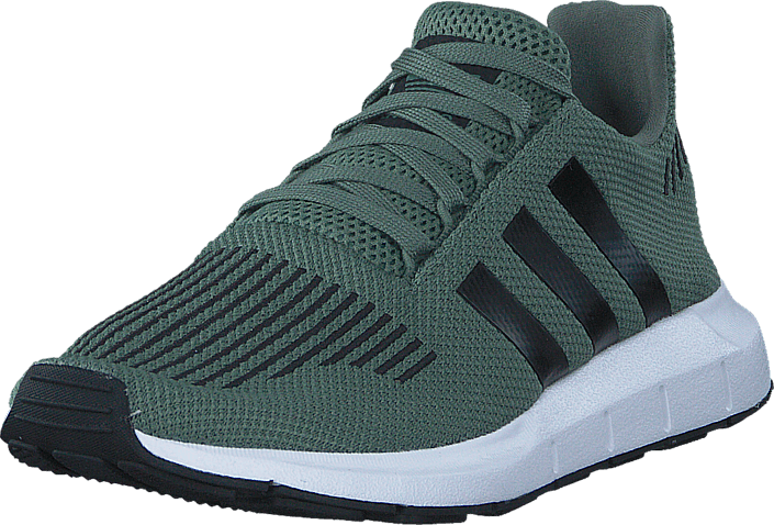 adidas Originals - Swift Run J Trace Green S17/Core Black/Ftw