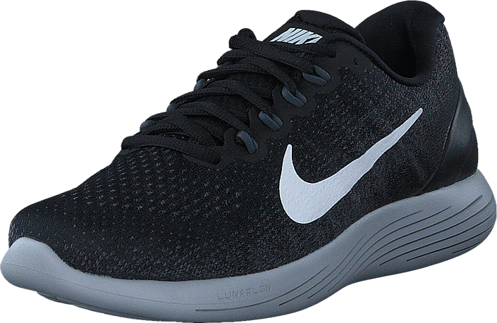 Nike - Lunarglide 9 Black/White-Dk Grey-Wolf Grey