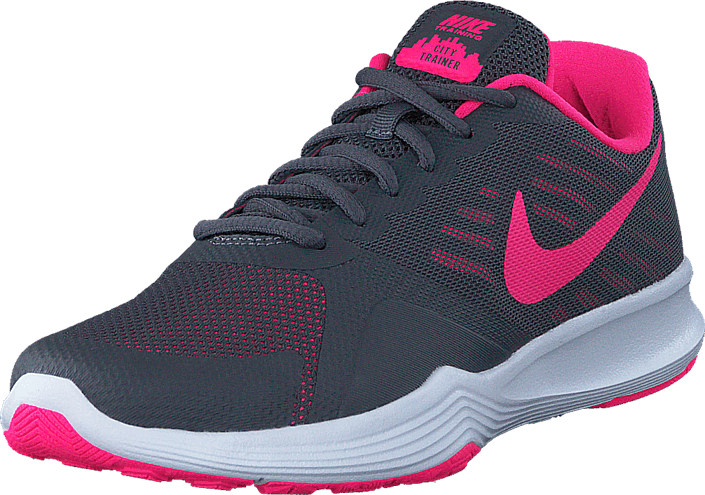Nike - Wmns City Trainer Dk Grey/Hyper Pink