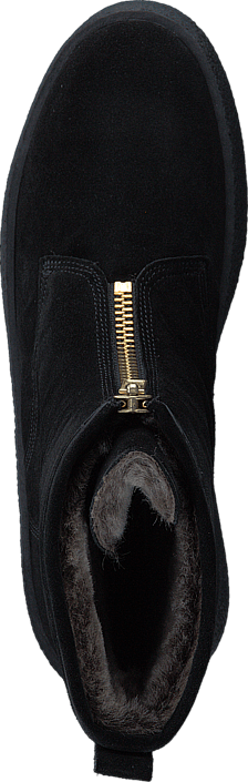 Billi Bi - 502 Black Suede Gold Black Sole Black