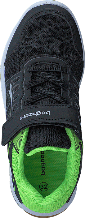 Bagheera Court Black/Lime
