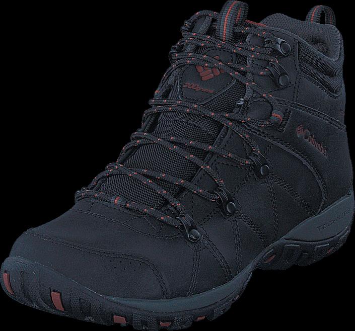 Footway SE - Columbia Peakfreak Venture Mid WP Omni-Heat Black Sanguine, Skor, Kängor & Boots 1297.00