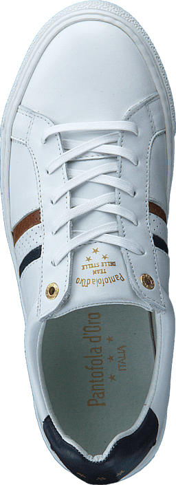 Pantofola d'Oro Todi Uomi Low Bright White