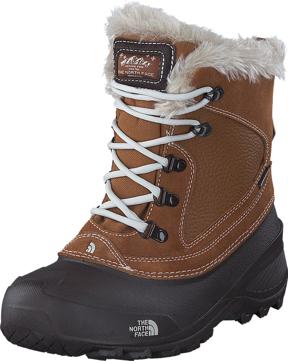 The North Face Youth Shellista Extreme Brown/ Moonlight Ivory