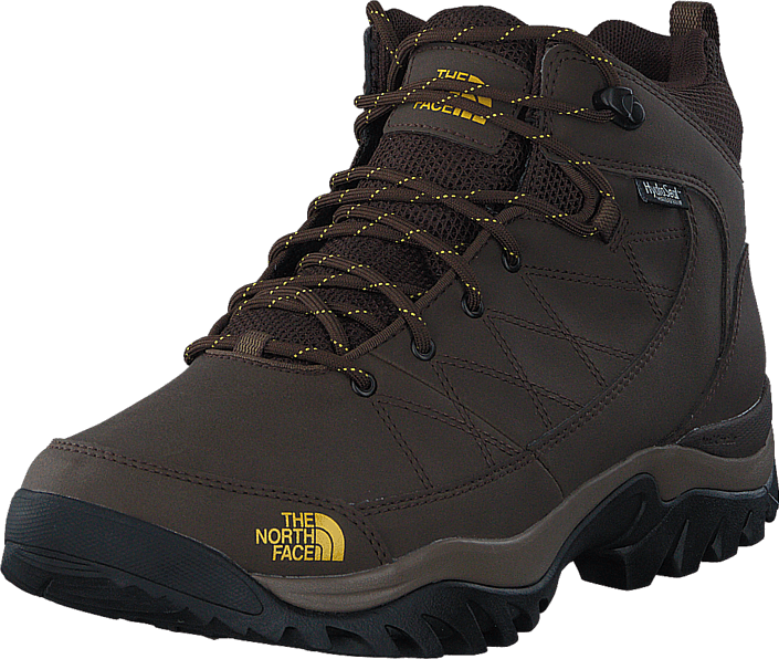 The North Face Men's Storm Strike WP Slate Grey/ Leopard Yellow