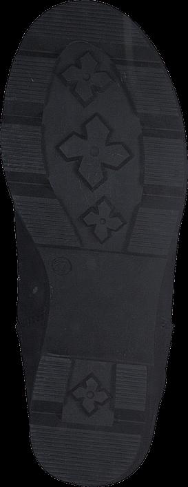 Johnny Bulls - High Platform Boot Black / Shiny Silver