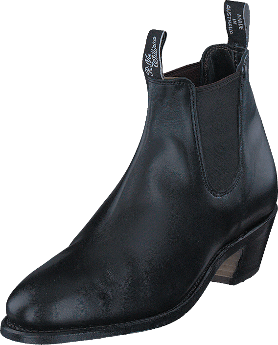 RM Williams Adelaide Cuban Heel Black