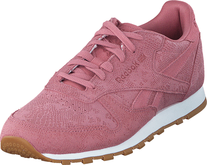 Reebok Classic - Cl Lthr Clean Exotics Sandy Rose/Chalk/Gum